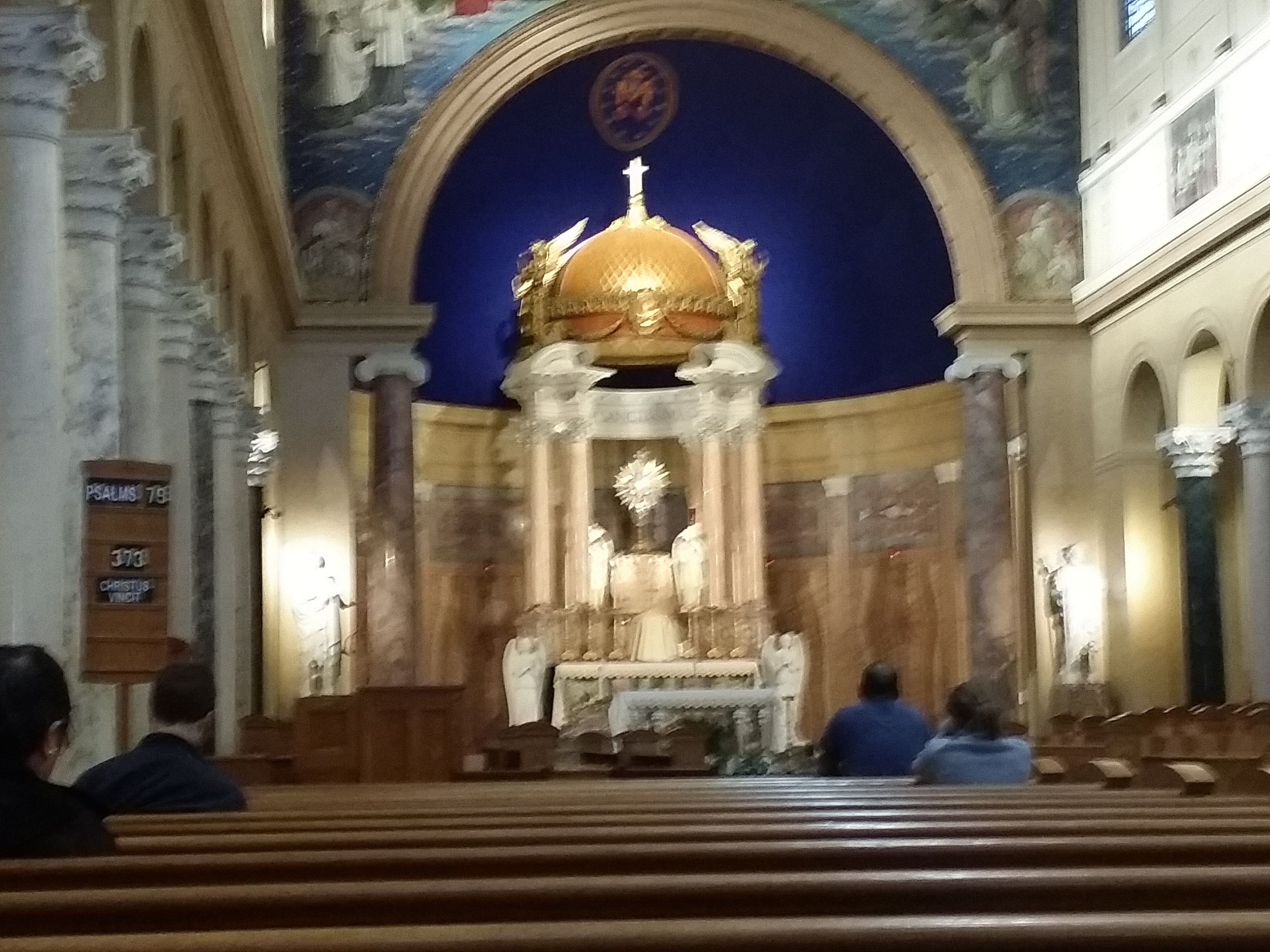 View Full Size Marytown Chapel & Monstrance