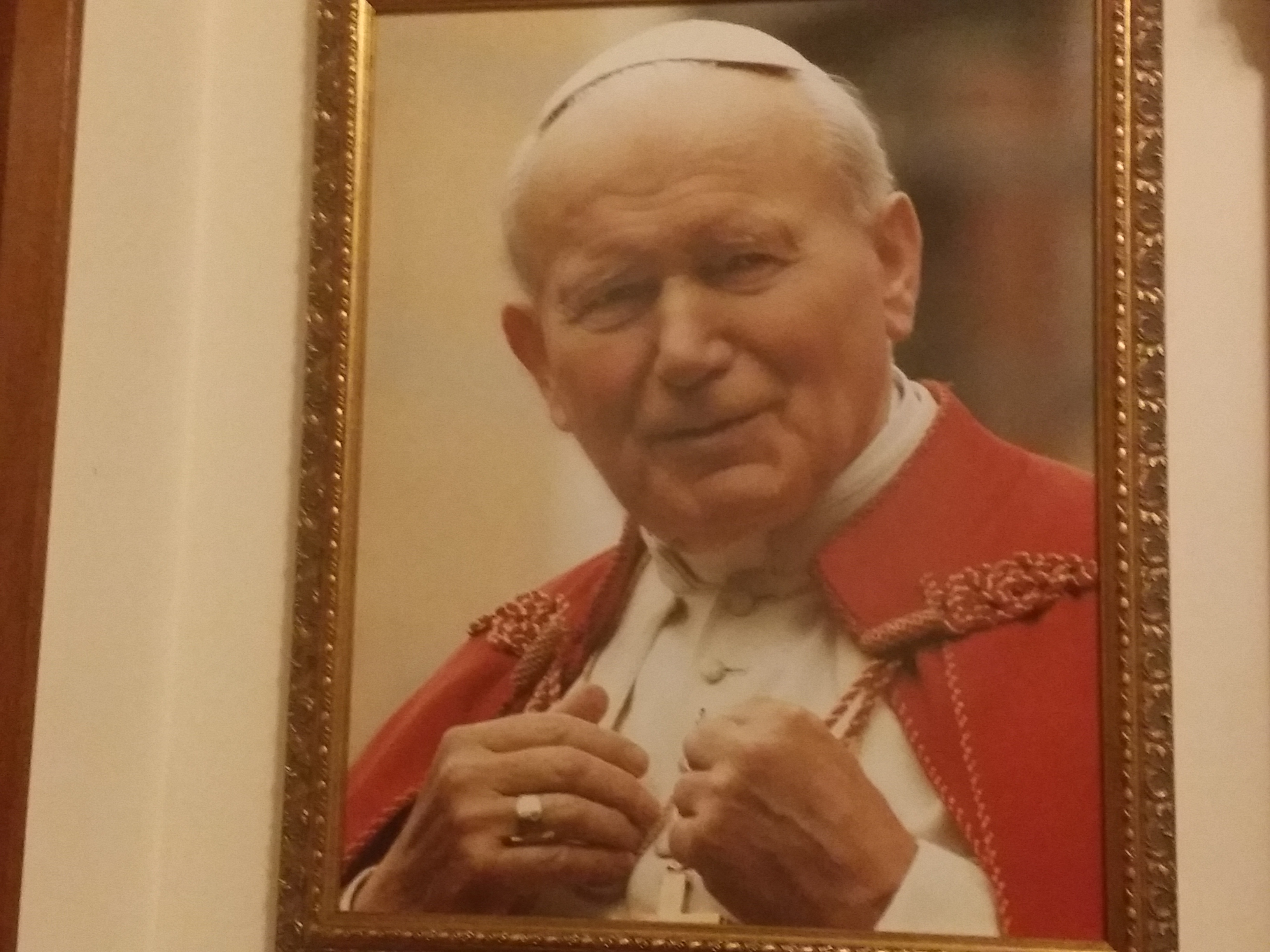 View Full Size St John Paul II and His Call to Perpetual Adoration.
