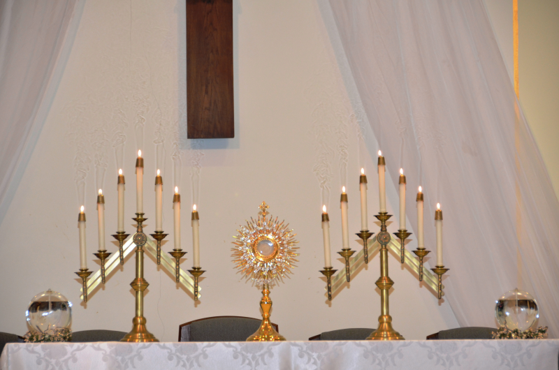 20 years of Eucharistic Adoration