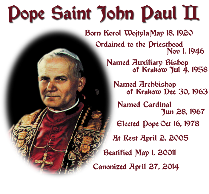 Tribute to Saint John Paul II